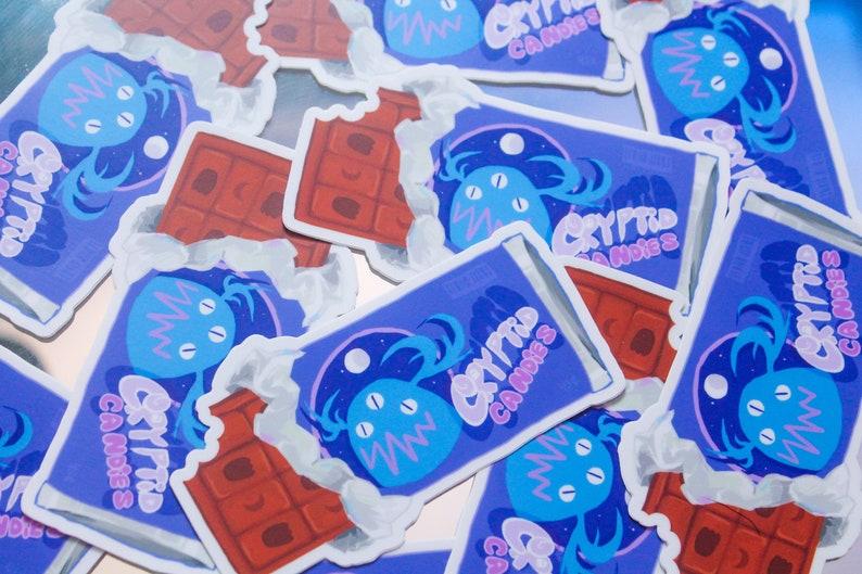 Cryptid Candies Chocolate Sticker image 0