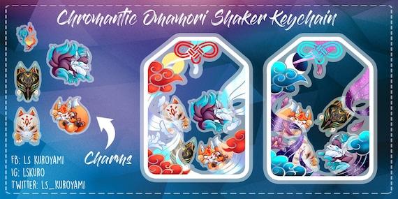 Omamori Shaker Keychains