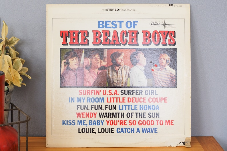 Beach Boys Best Of The Beach Boys Lp Vinyl Record Album 1978 Starline Capitol Dt 2545 Duophonic Surfin Usa