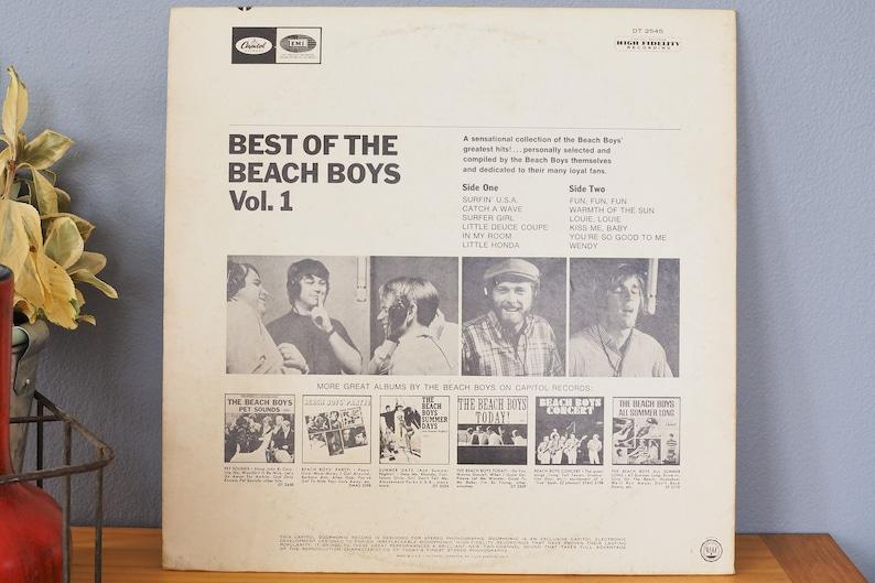 Beach Boys Best Of The Beach Boys lp Vinyl Record Album 1978 Starline  Capitol DT-2545 Duophonic Surfin USA