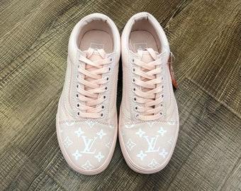 pink louis vuitton vans