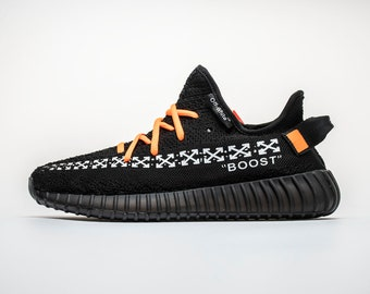 4c0b89fd06c5 Custom Off White x Adidas 350 Boost V2