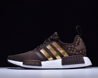 2006744ad283 Custom Made LV x Adidas NMD s