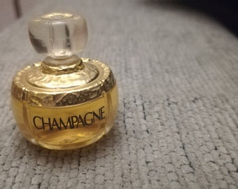 Vintage CHAMPAGNE YSL Yves Saint Laurent Mini perfume miniature Women 4ml 3c9e262286cdf