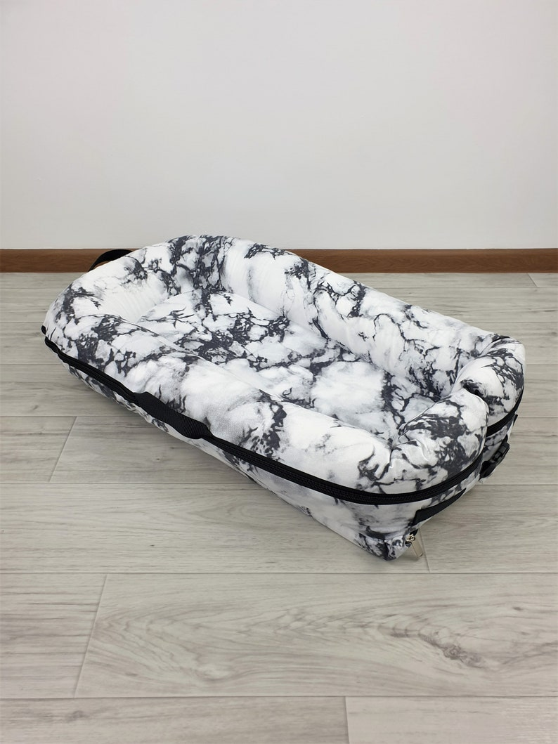 Grand Marble!!!New Dock  cover Marble Cover Deluxe sleep bad Deluxe Baby nest Baby sleep positioner, co sleeper Baby lounger
