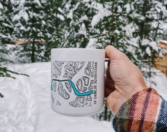 Wheelhouse Designs Miir Camp Mugs, Kenai River Mug, Alaska Camp Mug, Fishing Mug, Boat Mug, Made in Alaska Kenai River Alaska
