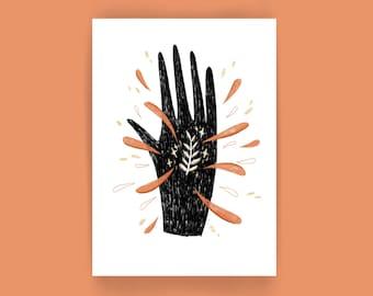 Possessions   Hand Print A5