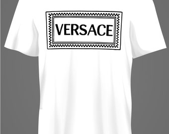 ec4a7e3fed Versace t shirt | Etsy