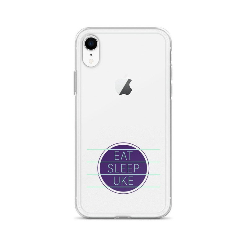 Ukulele iPhone Case  Eat Sleep Uke  Great image 0