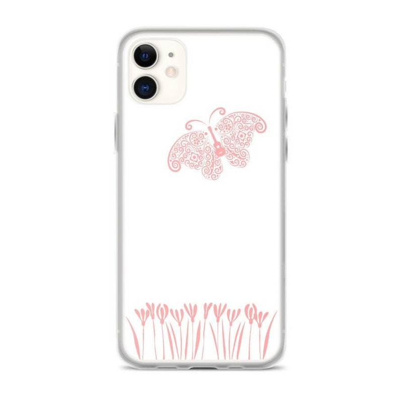 Ukulele  Butterfly iPhone Case  Great phone case with pretty image 0