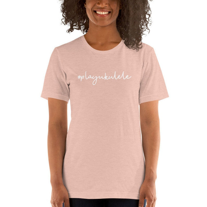 Ukulele t-shirt  playukulele  Cute t-shirt with ukulele image 0