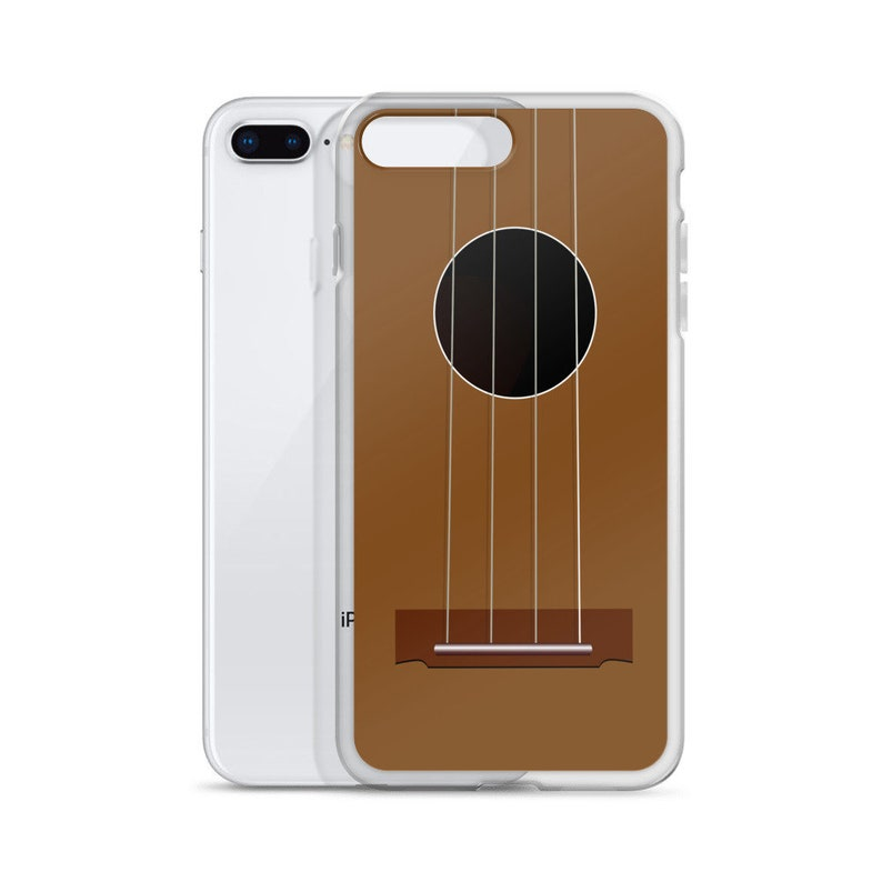 Ukulele iPhone Case  Realistic ukulele design to imagine image 0