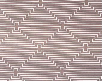 Joel Dewberry, Birch Farm Collection, Chicken Coop, colour - Burlap , PWJD094.BURLA, White line pattern on a Mocha Background