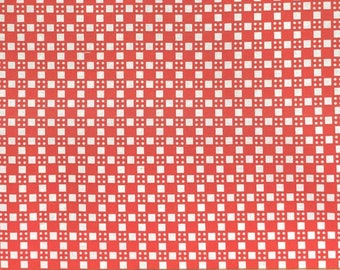 Happy Go Lucky by Bonnie & Camille for Moda, pattern #55066, col 11 coral-red