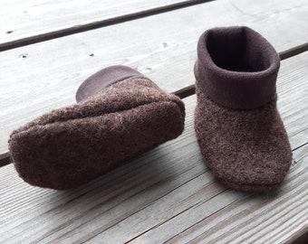 Woolwalk Shoes - dark brown