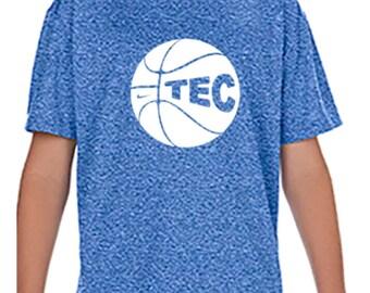 96f0670b Custom Athletic Shirt - Custom Performance T-Shirt - Basketball T-Shirt- Camp  Sports T-Shirt - Camp Wear - Spirit Wear - School Wear