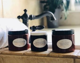 Dry Skin Cream | Body Butter | Cocoa Butter | Mango Butter | Body Butter Black Owned | Eczema Relief | Paraben Free | Handmade | Moisturizer