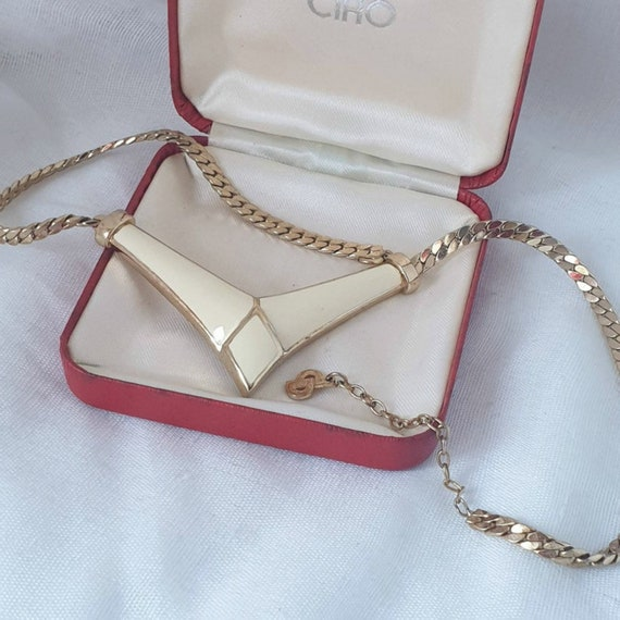 Vintage Christian Dior Necklace, 1980's Dior Bijou