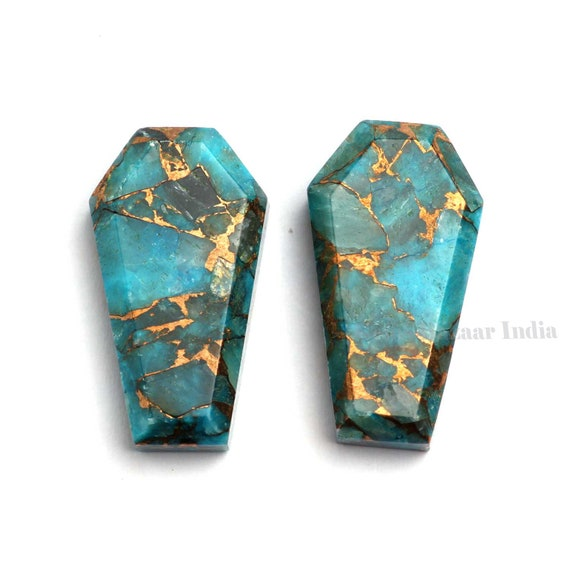 Big Blue Copper Turquoise 22x30mm Oval Cabochon Fine Quality Blue Turquoise,Blue Copper Turquoise For Jewelry Making Turquoise Pendant