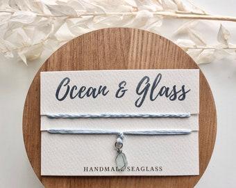 Seaglass anklets/bracelets