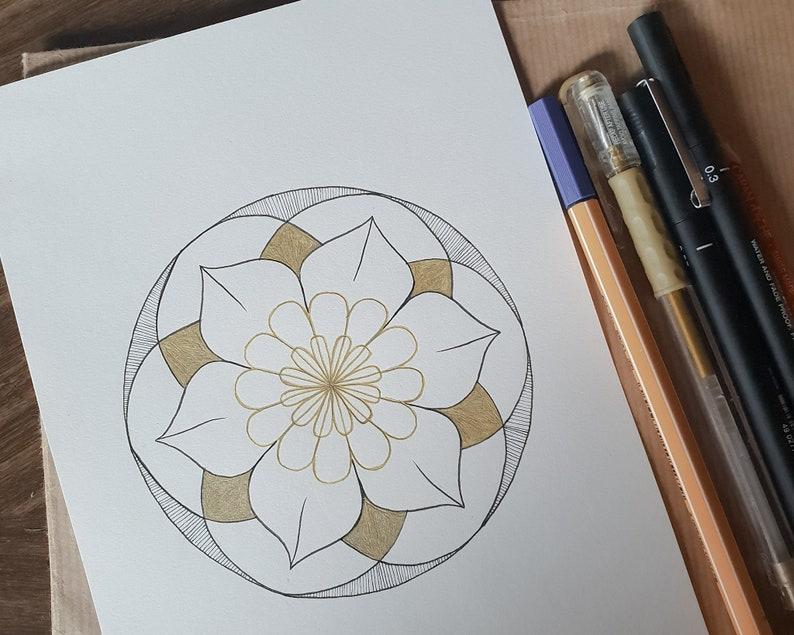Custom Astro Mandala  image 0