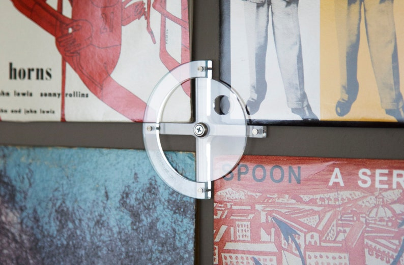 Spinmount Record Album Frame System  Adaptable Wall Mount for image 0