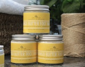 Cosy Cottage Soaps Mango Butter and Lemon Vegan Exfoliating Foot Balm - 120ml