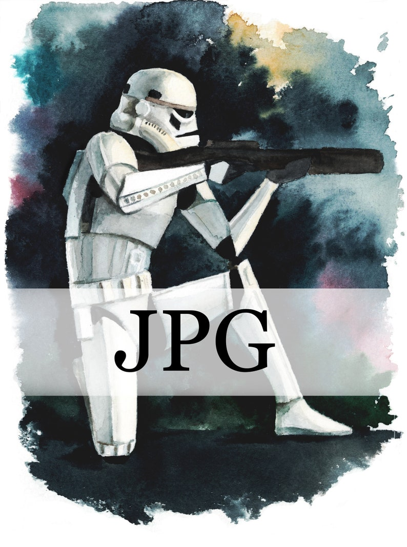 image regarding Stormtrooper Printable titled Stormtrooper Printable, stormtrooper electronic, stormtrooper Poster, Watercolor Star Wars Portray, Stormtrooper postcard printable