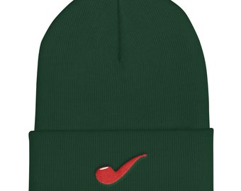 Just a Pipe - Cuffed Beanie by Relight