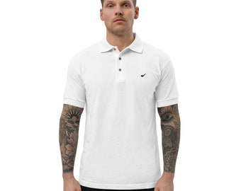 Pipe Embroidered Polo Shirt by Relight Pipe Gear