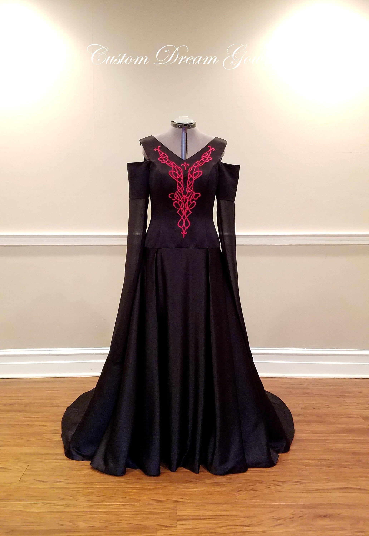Medieval Wedding Dress Gothic Wedding Dress Game Of Thrones Etsy