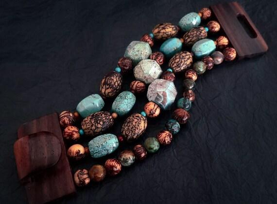 Set of Ecuadorian Tagua Acai Mucuna /& Coconut Bracelets Tagua Bracelet Boho Bracelet Ethnic Bracelet Pulsera de Tagua