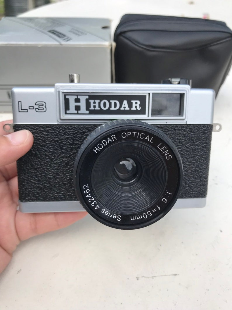 Vintage Hodar L-3 film camera with 50mm lens compact TESTED