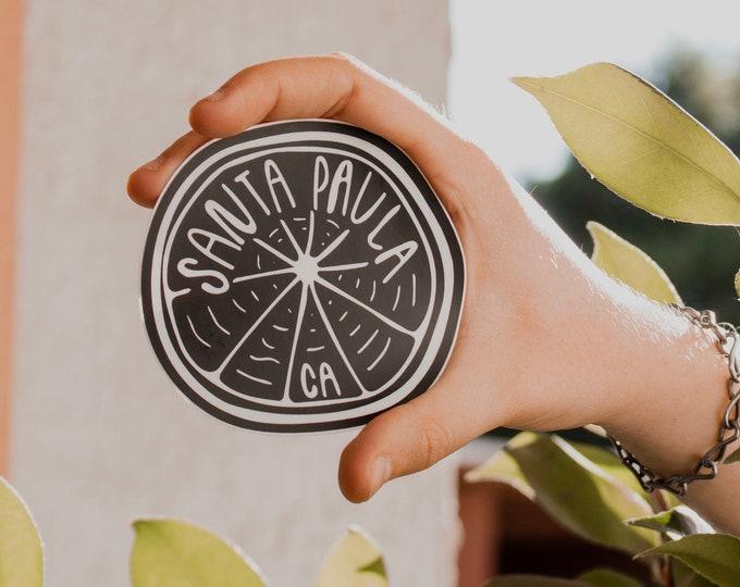 Santa Paula Sticker
