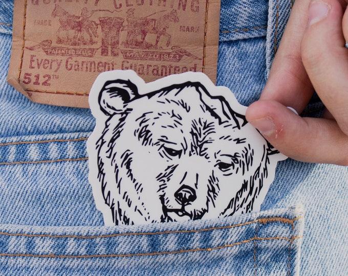 California Bear Butte Sticker