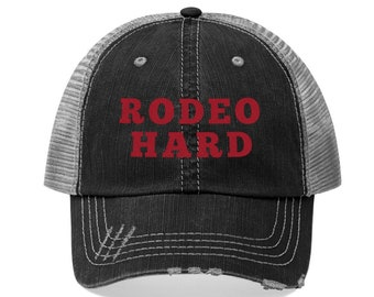 Rodeo Unisex Trucker Hat l Rodeo Hard Hat l Rodeo Cap ef4a594fefcd