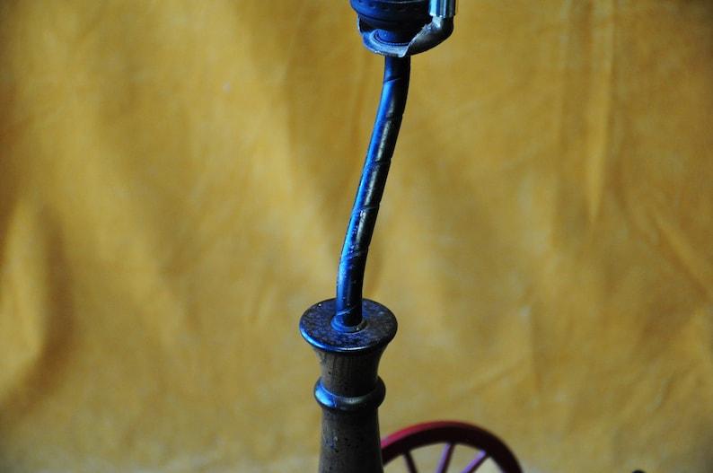 Vintage Cast Iron Toy Cannon Lamp 1970s Cast Iron Cannon Lamp Midcentury Military Theme Cast Iron Lamp 1970s Cast Iron Military Lamp