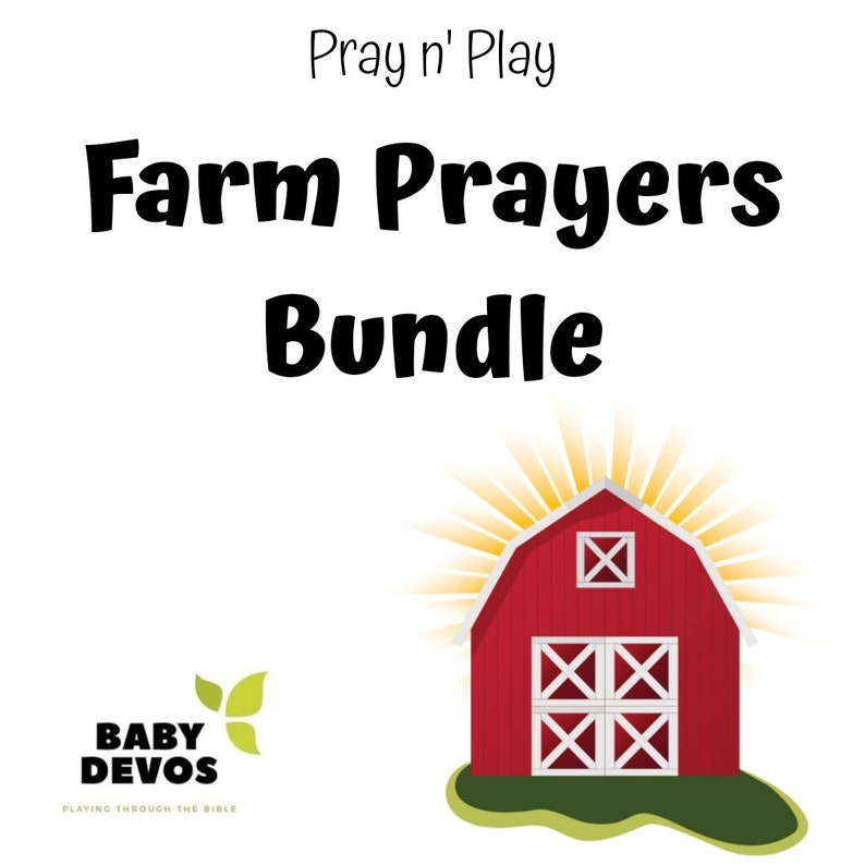 Farm Prayers Bundle image 0