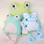 SALE Fritter Frog PDF Doll Pattern