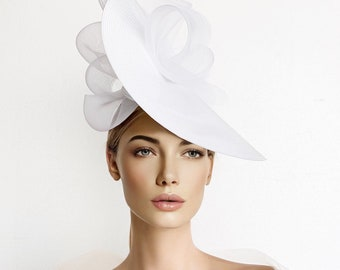 racing carnival hat feathers kentucky derby hat luncheon hat royal ascot hat RED kentucky derby hat tea party hat RED fascinator