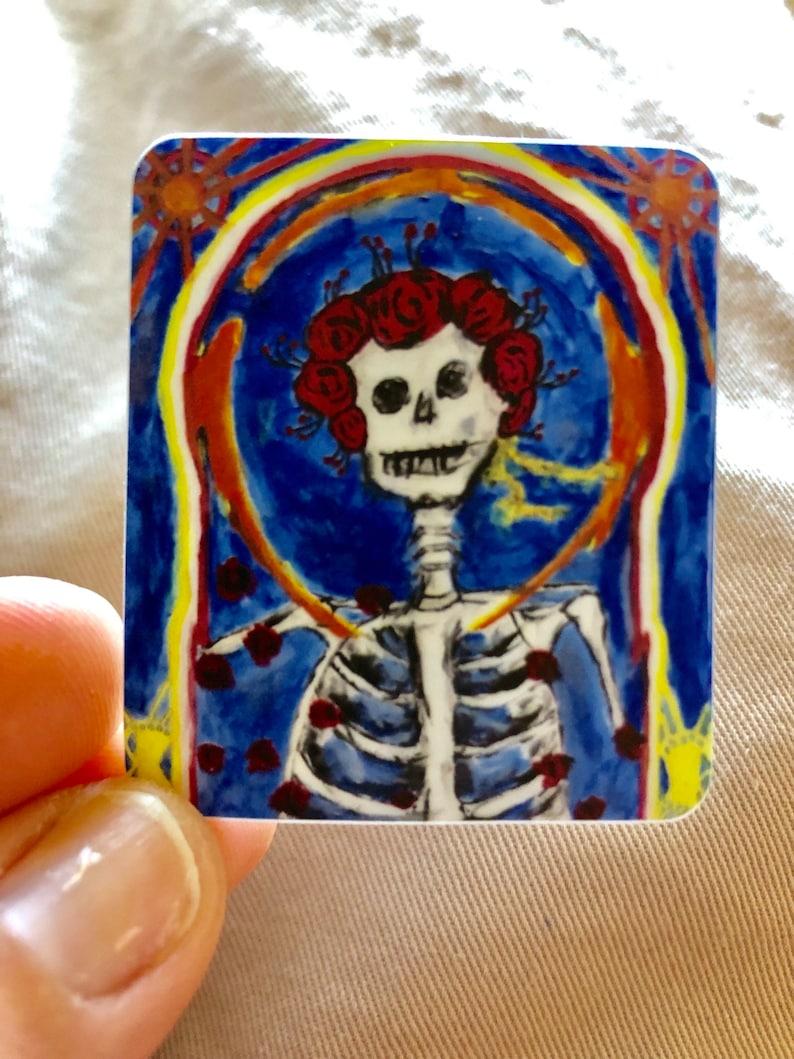 Skeleton In The Closet Grateful Dead Sticker