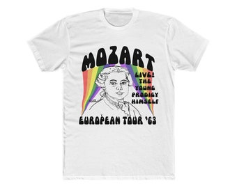 7ada174bd Mozart 1763 Tour Shirt, As Seen in ASPERGERS Are US Comedy Troupe!