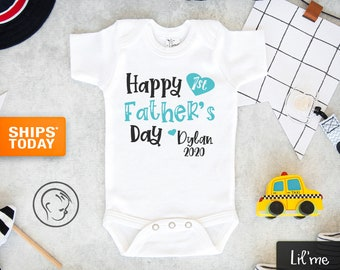 Fathers Day T-Shirt Father/'s Day Bodysuit Fathers Day Baby Outfit Fisherman Fishing Daddy You/'re A Fin-Tastic Daddy Happy Father/'s Day