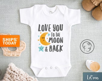 Unisex Baby Clothes Kitten Baby Sleep Clothes,Cute Onesies Boho Baby Clothes Personalized Cute Cat  Moon Onesie\u00ae Moon Baby Shower Gift