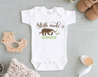 2b913699d6a1 Sloth baby clothes