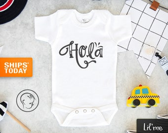 Unisex  Latina Empowerment Baby Spanish Onesie \u201cBebecita\u201d  Baby Girl Bodysuit Espa\u00f1ol