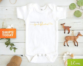 Little Ray Of Sunshine Baby Onesie® - Cute Baby Onesie®s - Sunshine Baby Onesie® - Minimalist Baby Onesie® - Baby Shower Gift