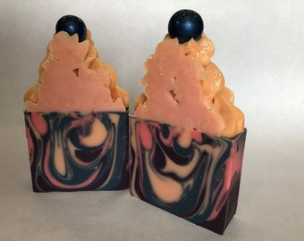 Midnight Roses, Handmade Soap, Handcrafted Soap, Artisan Soap, High Top Soap, Natural, Bar, Homemade Soap, Gifts, Graduation, Housewarming
