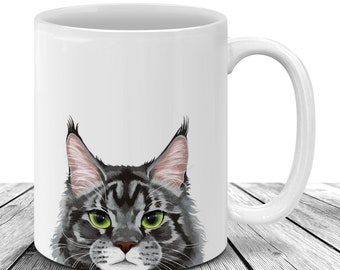 Maine Coon Cat Dad Mug Cat Lover Gift For Father/'s Day 11oz