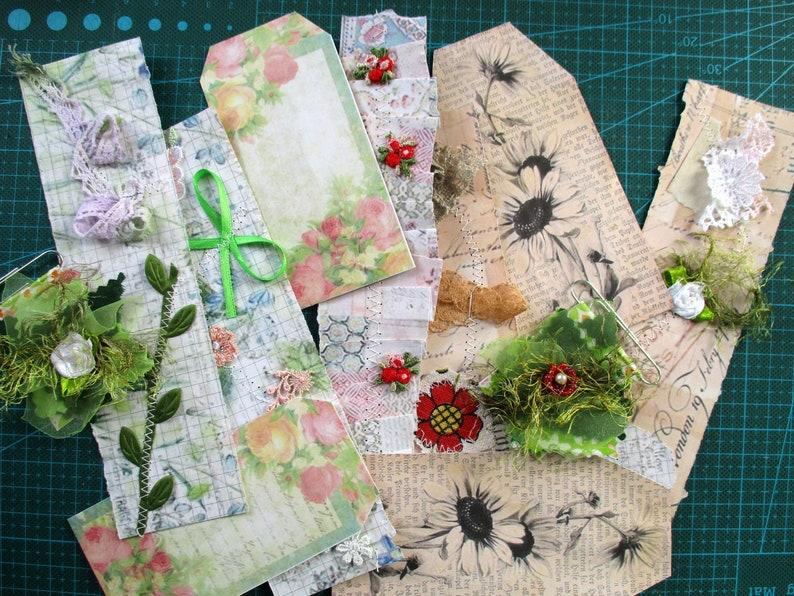 Stuffed Ephemera pocket folder ephemera folio